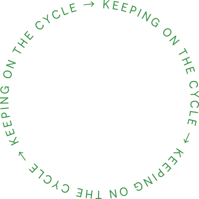 Keeping on the cycle